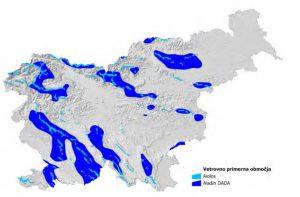Vetrni potencial Slovenije
